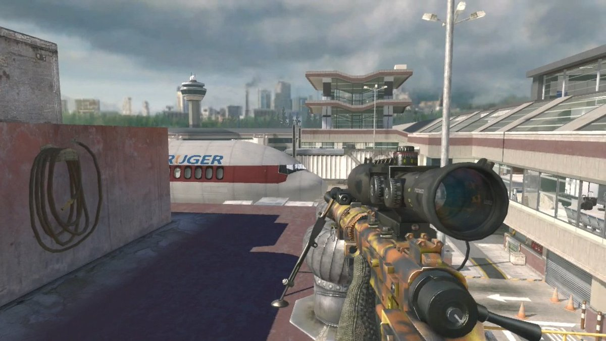 Only RT if you want the Intervention back in Call of Duty: Modern Warfare