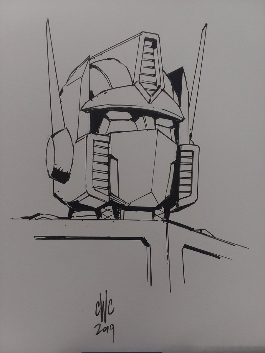 Quick sketch of the Big Boss Bot