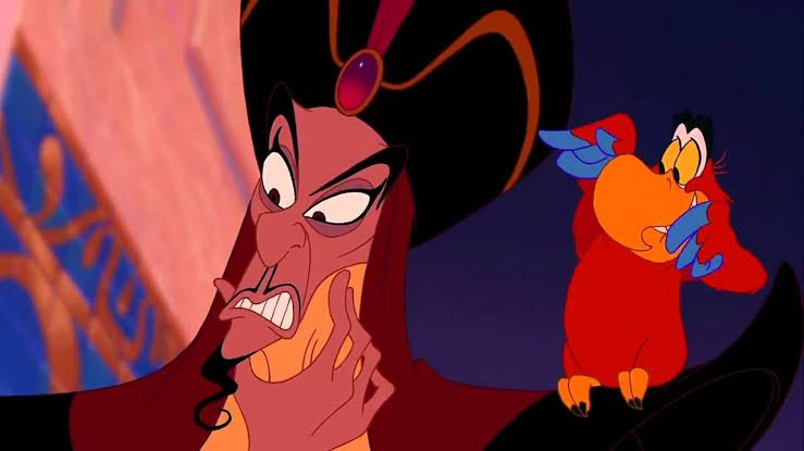 Yea just when I thought it couldn&#39;t get any weirder with a hot version of Ursula, here&#39;s hot versions of Jafar and Iago. Im just waiting for hot captain hook... Thx disney. <br>http://pic.twitter.com/4UiOvUQ5Ar