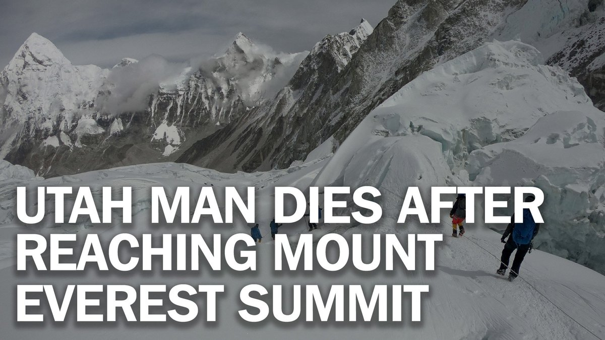 Utah man is among the latest to die amid traffic jam of hikers at Mount Everest http://mag.time.com/PEbNpiJ