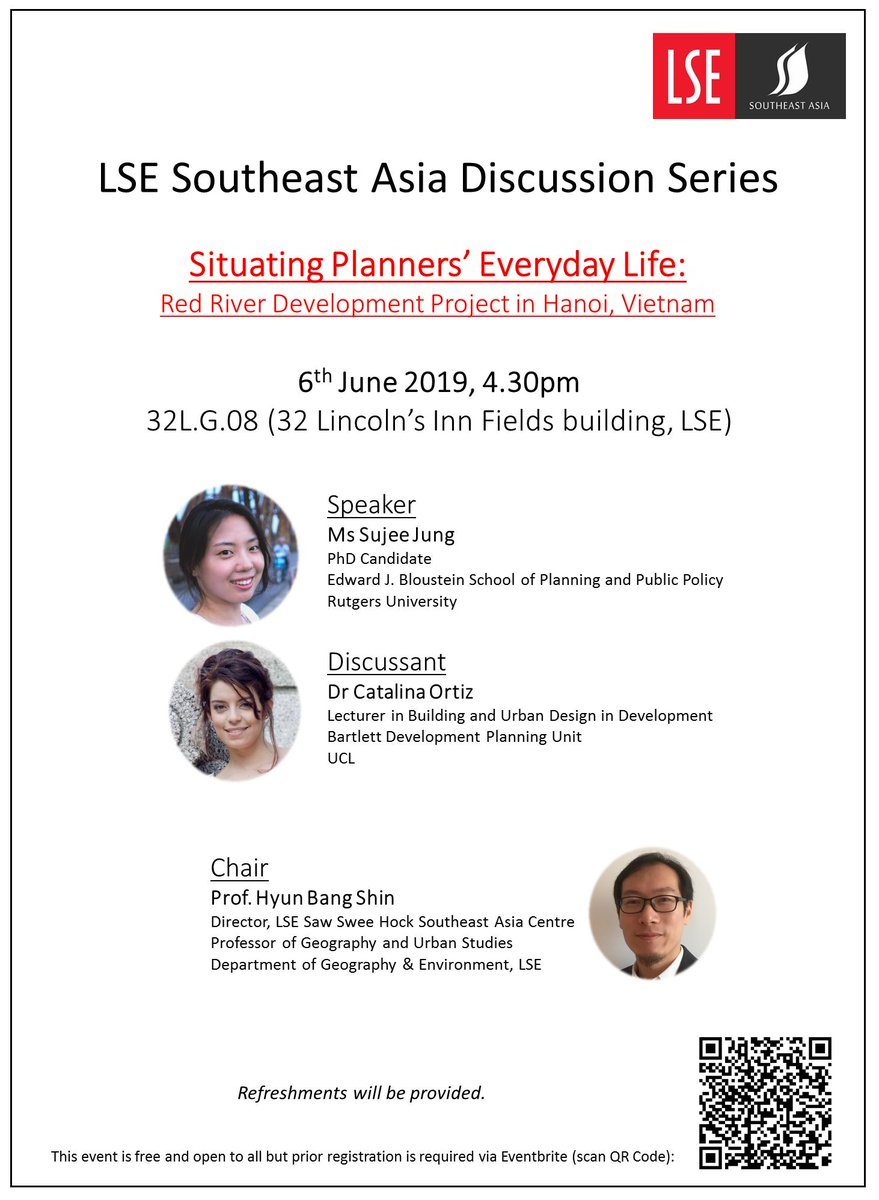 4add1ccd37 ... Red River project in Hanoi. @cataortiza will be Discussant and the  event will be chaired by @urbancommune. More information & sign-up link  here: ...