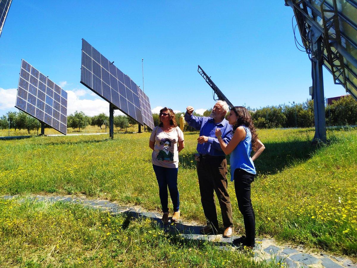 Nuestra candidata a la Presidencia de la Junta, @Irenirima, ha visitado hoy Ingema, una empresa dedicada a la instalación de energías renovables para PYMES y familias. Este es nuestro modelo, uno que garantice un futuro en Extremadura #PorUnFuturoAquí