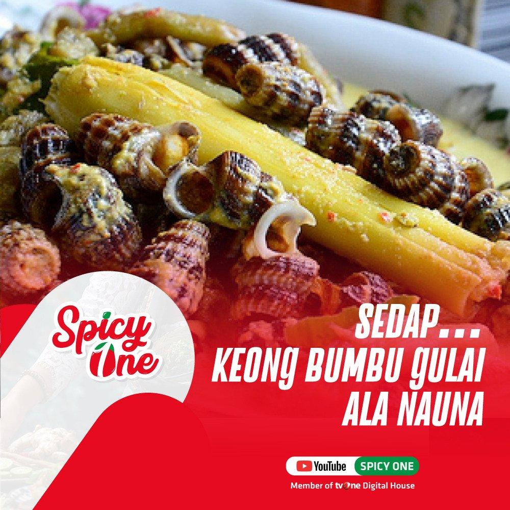 Tahukah kalian bahwa bagi masyarakat Natuna, keong merupakan lauk yang biasa dikonsumsi sehari-hari bersama nasi. Rasanya lezat, apalagi kalau dimasak dengan gulai santan. Penasaran? Yuk, tonton videonya di http://ow.ly/HkxI50uoBRu. #spicyOne #KulinerIndonesia #KeongManisNatuna
