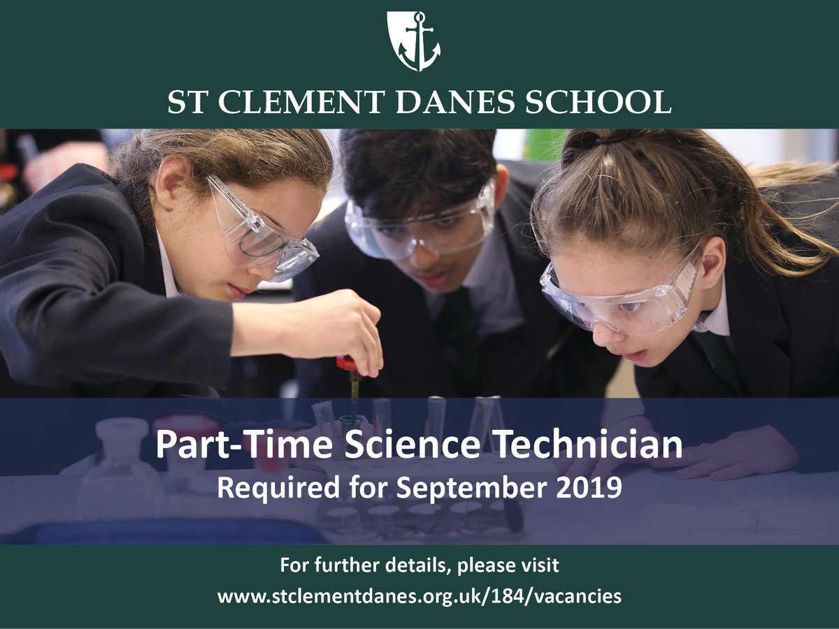 Fantastic opportunity to join a great team at SCD as a science technician. Closing date 5th June. Details: https://t.co/rgIP4QYyxM https://t.co/Y3hYTEPfNy
