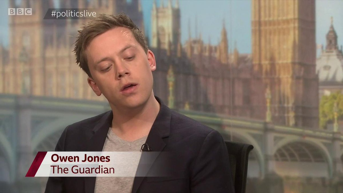 Image for the Tweet beginning: Watch Owen Jones wonderfully pay