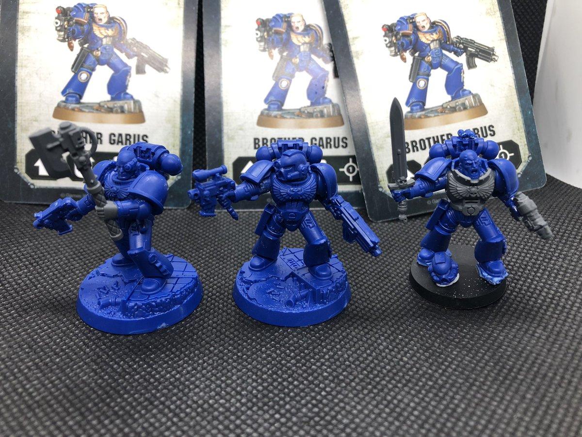 Space Marine Heroes BROTHER GARUS New /& On Sprue 40K