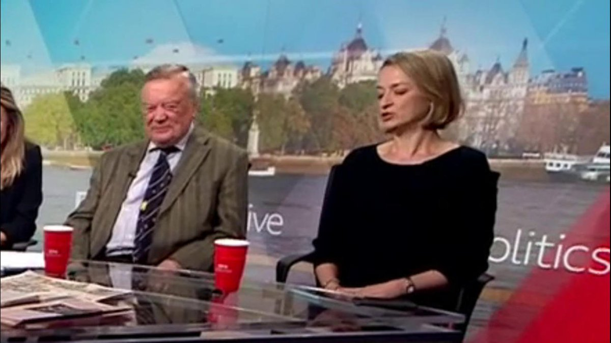 """""""They have just taken their hands off the knife"""" Ken Clarke on the social media tributes to Theresa May from those who may be after the top job""""You are reminded how brutal our system is – the pattern we always see"""" @bbclaurak#politicslive https://bbc.in/2HRIgmw"""