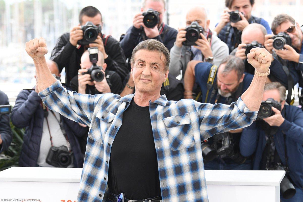 Sylvester Stallone au festival de Cannes 2019