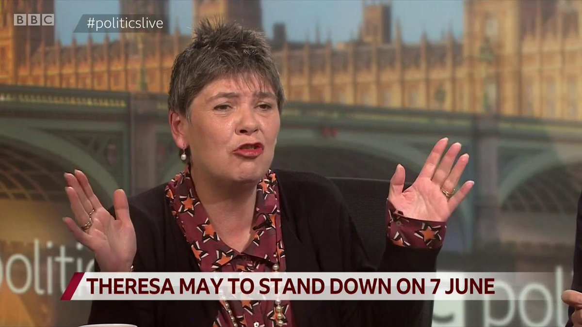 """Brexiteer Claire Fox on Theresa May saying she has done her best to deliver Brexit: """"The whole country are going: 'No you have not', that's the whole point""""#politicslive https://bbc.in/2HRIgmw"""