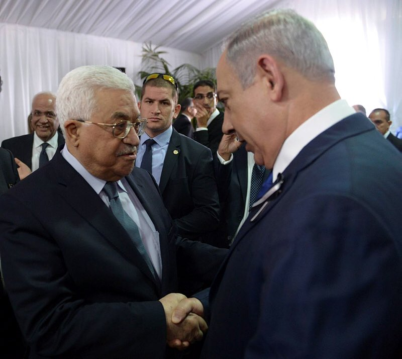 """Ramallah is only 10 miles from Jerusalem, yet it takes years for political leaders to get together even once. Palestinian leadership is also boycotting the peace conference in Bahrain. That is continued reckless irresponsibility instead of """"leadership."""""""