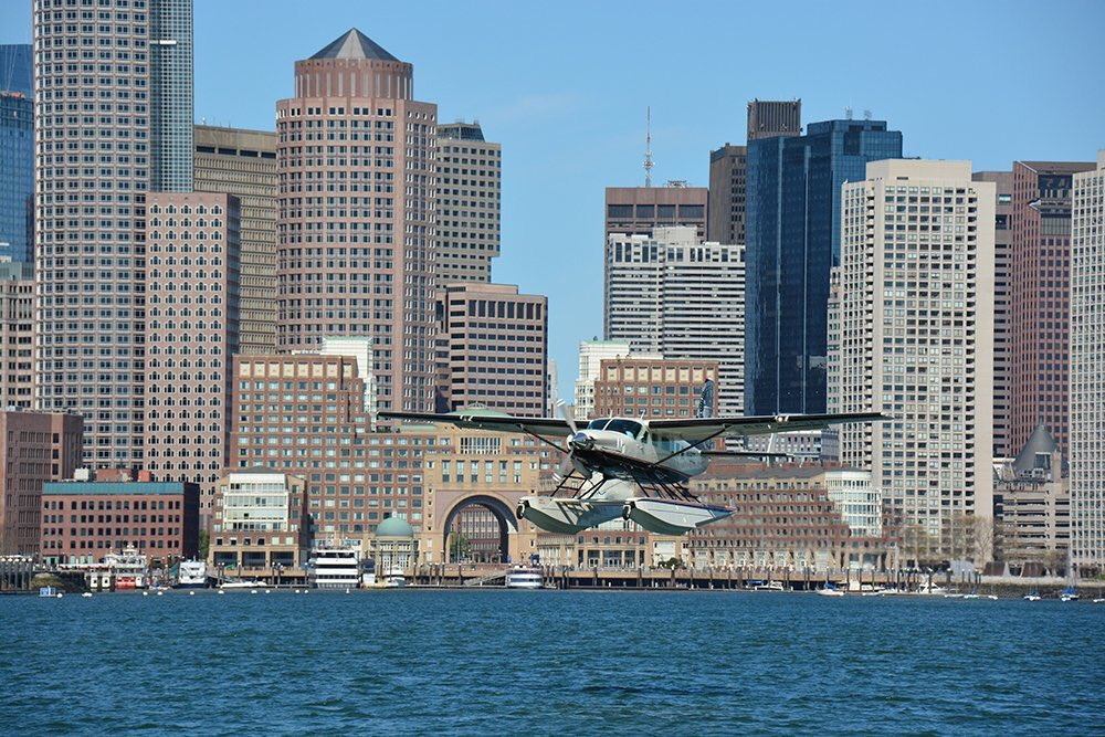 Seaplanes are Set to Splash Down in the Boston Harbor Soon  Cape Air will soon offer a Boston to New York City seaplane flight. http://bhne.ws/3L8W830