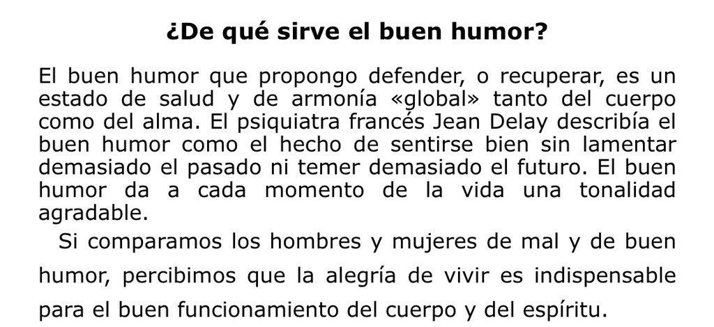 """¿De qué sirve #ElbuenHumor? @LejoyeuxM  en """"Todo el año de buen humor"""""""