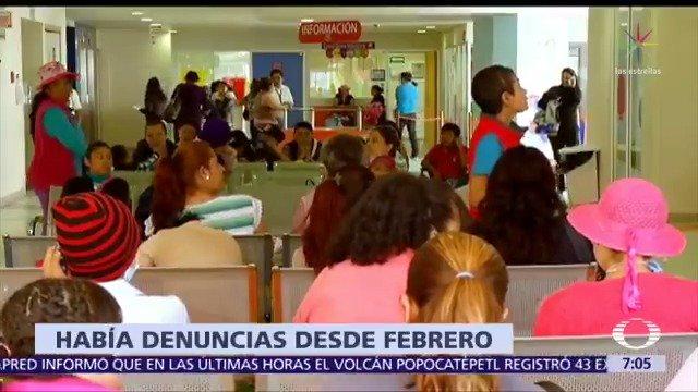 Desde febrero, el Hospital Infantil de México 'Federico Gómez' presentó alertas por recorte presupuestal; familiares de menores internados denunciaron a Despierta la falta de insumos #DespiertaConLoret con @campossuarez