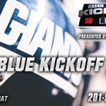 Image for the Tweet beginning: Big Blue Kickoff Live presented
