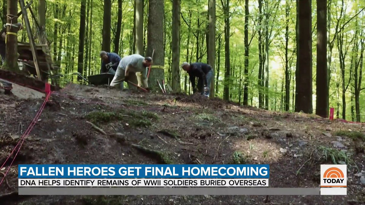 .@HarrySmith went to Germany where DNA is helping to identify fallen heroes of WWII to give them a final homecoming.