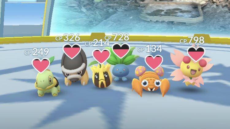 test ツイッターメディア - ポケモンGO日記  楽しそうなジムですね🐥  さすがに手を出されにくのか 10時間以上防衛していました!  その後は バンギラスや ドサイドンなどの おっさんの溜まり場ジムに 変わってました…🍺  #ポケモンGO #ポケモン #PokemonGO #Pokemon https://t.co/X69XMMWq5r