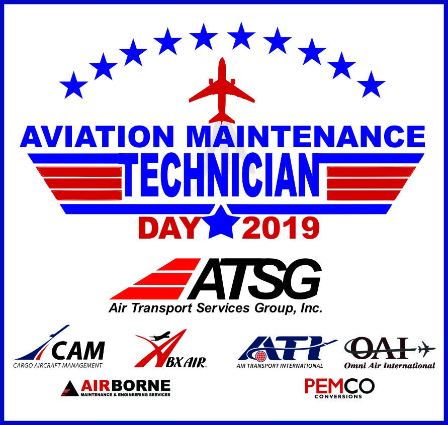 Thanking all of the Aviation Maintenance Technicians that keep the fleets of the ATSG Companies flying.  Your dedication and professionalism are a reflection of the industry pioneer Charles Taylor who we celebrate today.  #AMTDay #AviationMaintenanceTechnicianDay