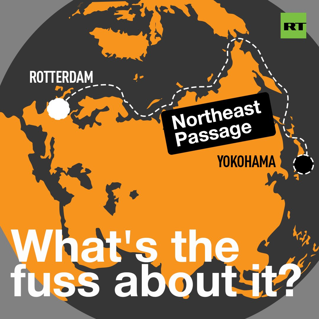 Northern Sea Passage is turning into a hot topic these days. Why?  Russian FM Lavrov said that Russia is willing to grant support to all ships that pass through route. #US State Sec Pompeo expressed concerns 'about #Russia&#39;s claim over international waters on Northern Sea Route.'<br>http://pic.twitter.com/6TIW6CTdAw