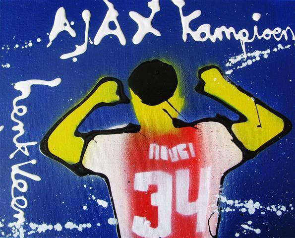 #AJAXop#boardart Echt geschilderd met o.a  # Nouri vanwege het landskampioenschapof Cruijff etc24 x 30 cm Groot€50,-per stuk, excl verzendkosten van 5,58 euro. Je mag ze natuurlijk ook op komen halen.tweet/mail mij het nummer die je wilt @AjaxFanzoneNL