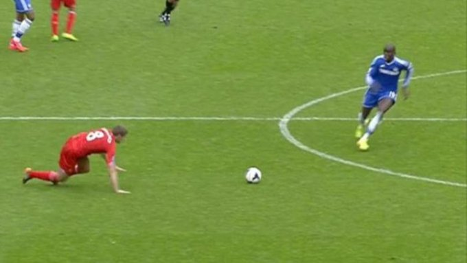 HAPPY BIRTHDAY Demba Ba turns 34 today.  No doubt Steven Gerrard still probably sees him in his nightmares...