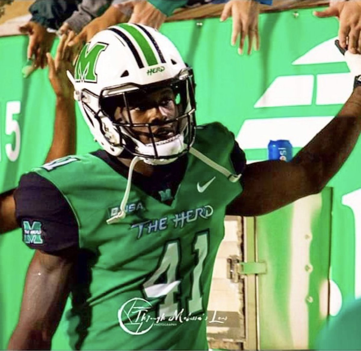 Thanks to Coach Baker @CoachDBaker81 from @HerdFB for Stopping by the POUND! to check out our Guys and our Program! #HOUNDS #TheHunt <br>http://pic.twitter.com/eAMqQ94JSf