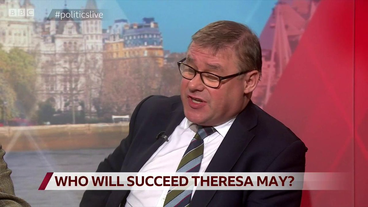 """Next Tory leader?Brexiteer Mark Francois: """"If Steve (Baker) runs I will be quite tempted to vote for Steve, like me he opposed the withdrawal agreement all the way through – Boris and Dom folded on MV3, Steve didn't""""#politicslive http://bbc.in/2HRIgmw"""