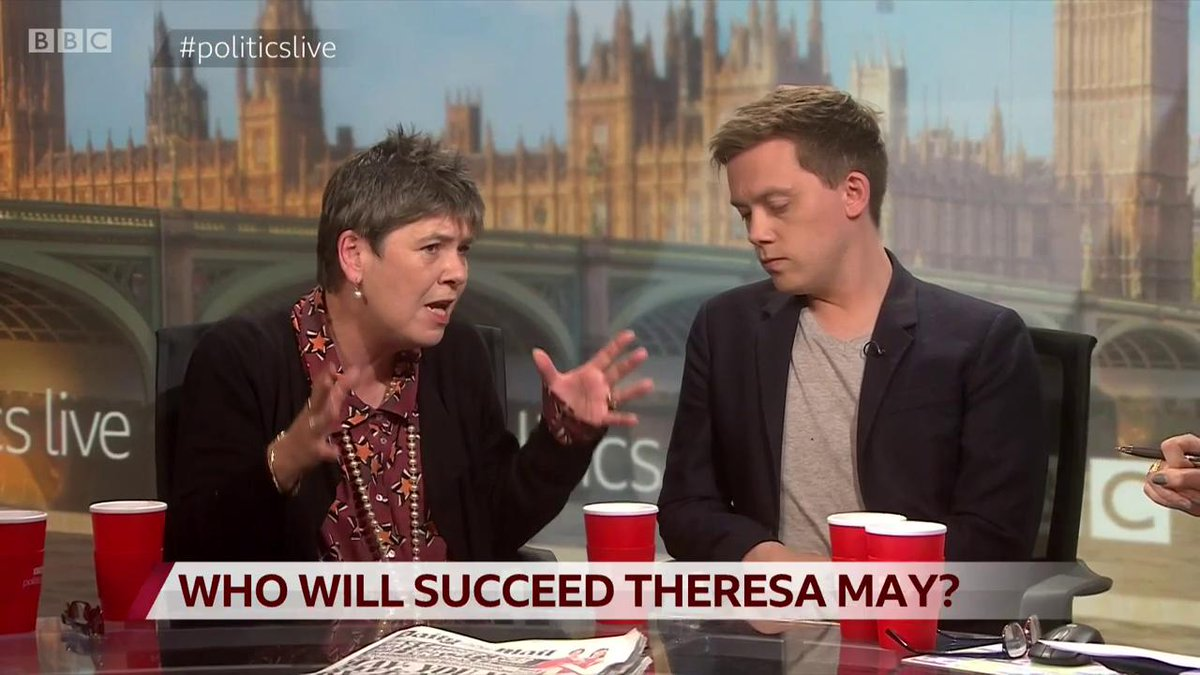 """Voters are """"utterly in despair about both political parties"""" says the Brexit Party's Claire FoxShe tells Owen Jones: """"You are effectively accusing people who want to do what we decided three years ago, to happen now, of being extremist"""" #politicslive http://bbc.in/2HRIgmw"""