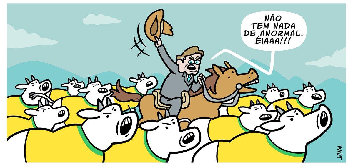 "Claudio Mor on Twitter: ""MORtoon - Boiada Na @folha de hoje ..."