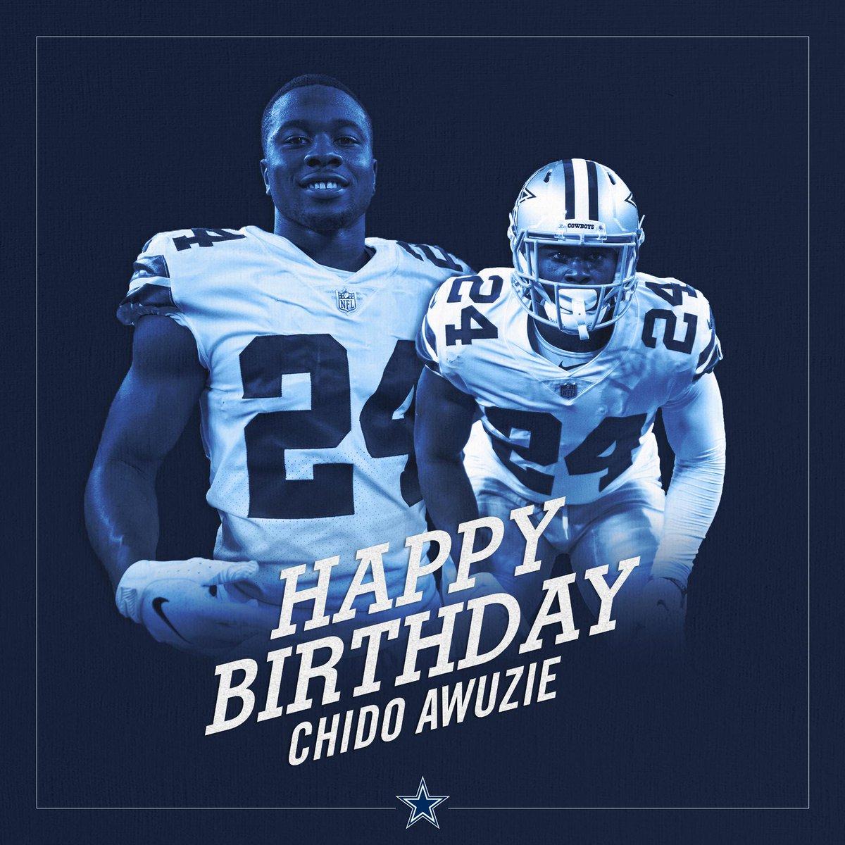 #CowboysNation, join us in wishing @ChidobeAwuzie a happy birthday!