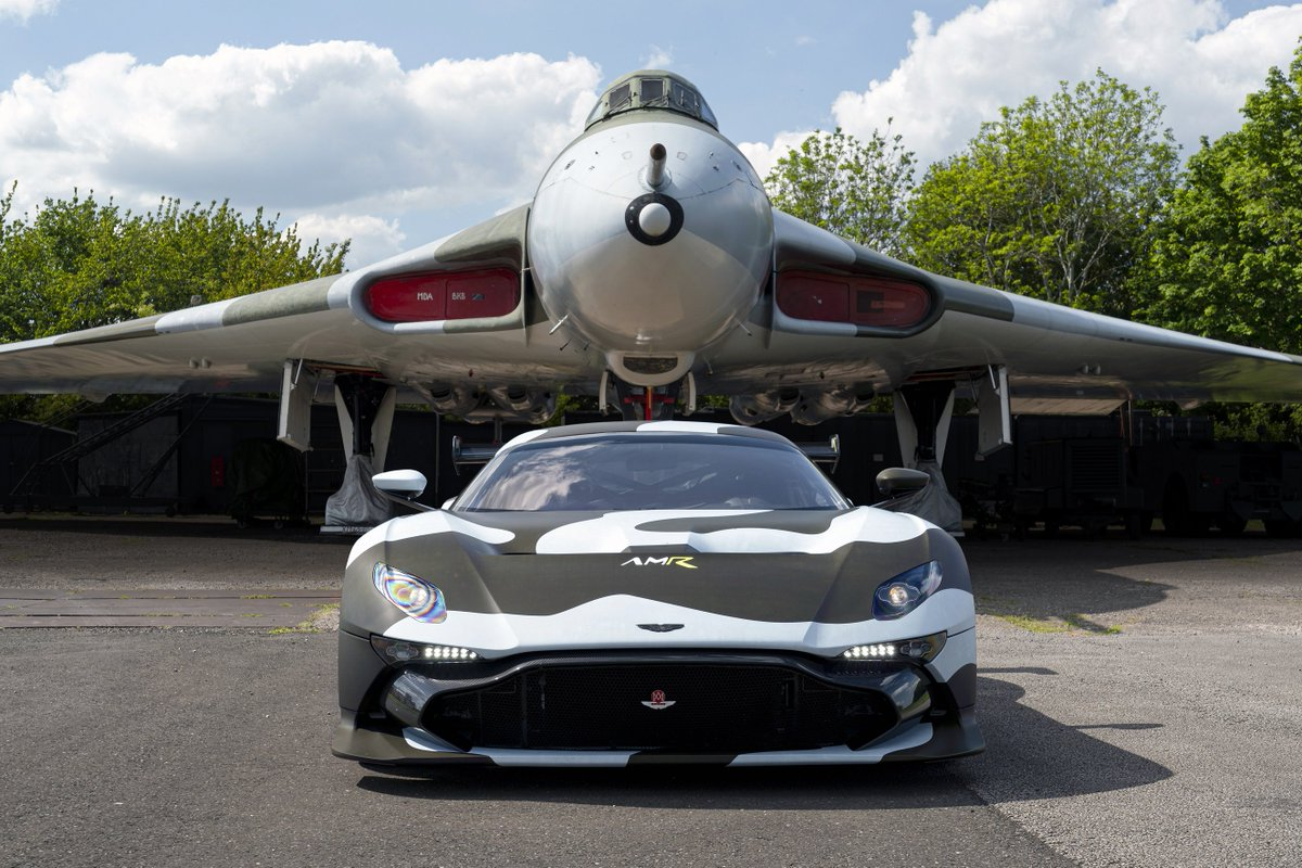 Check out the 'Vulcan Bomber' inspired livery on the only road-legal 820bhp 7.0L V12 Aston Martin Vulcan that will be taking part in this year's @gumball3000 'Mykonos to Ibiza' Rally starting on the 10 June 2019. https://astnmrt.in/2VPZrJW  #gumball3000 #gumballlife #Vulcan