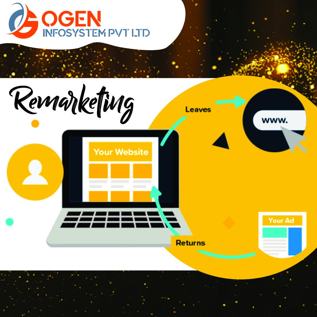 Re-marketing is a way to connect with people who previously interacted with your website or mobile app. Once a visitor, convert it to customer: http://tiny.cc/h1576y   #Website #DigitalMarketing #GoogleAds #WebsiteBanegaTabhiToBusinessBadhega