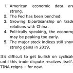 """Image for the Tweet beginning: STRATEGAS: five reasons """"why President"""