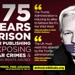 Julian Assange's freedom is our freedom.   Act now: https://t.co/gXcj1OuLMs #FreeAssange