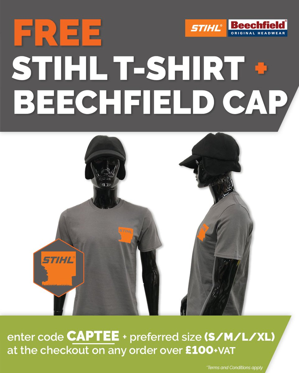 b0cf438169a300 ... and Beechfield Cap with any order over £100+vat!!  https://www.frjonesandson.co.uk/offers/free-stihl-t-shirt-and-beechfield-cap-on-orders-over-100-vat/  …