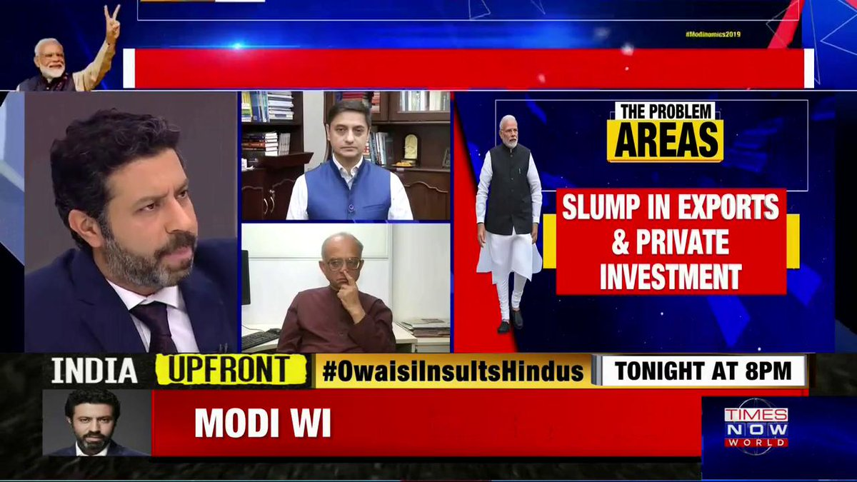 #Modinomics2019 | He dramatically brought down inflation over the course of 5 years: @sanjeevsanyal, Principal Economic Adviser in the Ministry of FinanceJoin @RShivshankar.
