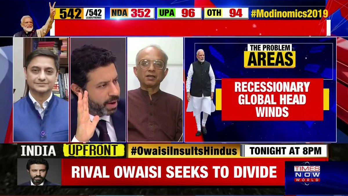 We have not reformed sufficiently on land, labor or capital compared with our rival neighbors: Swaminathan Aiyar, Senior Economist. | #Modinomics2019