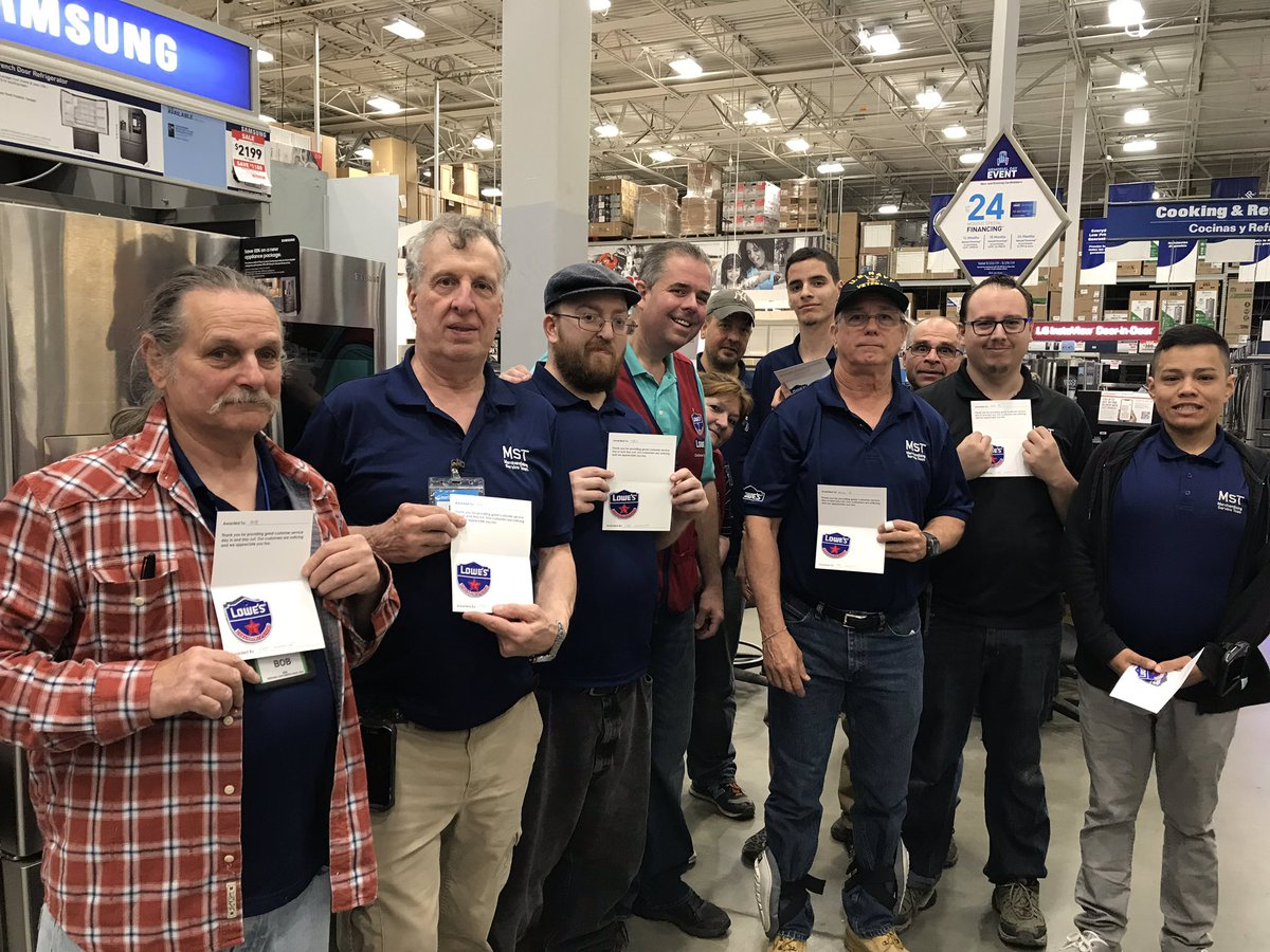 Who has the BEST MSA team out there? Bay Shore Lowes