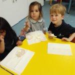 Image for the Tweet beginning: Nursery 1 are enjoying rice