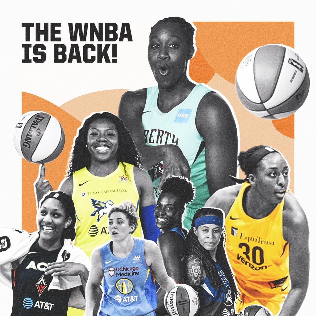 The WNBA is back. Two games help tip off the 2019 season tonight.