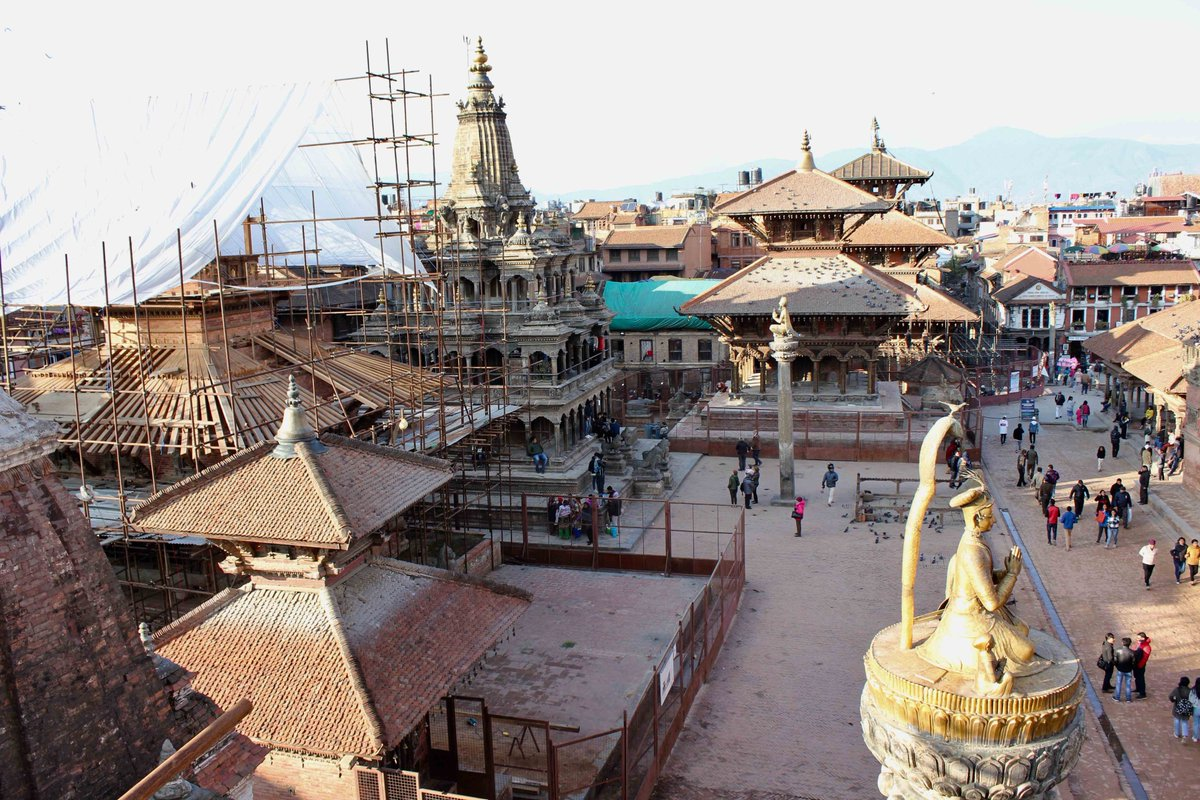 test Twitter Media - Insufficient records severely hampered efforts to restore Nepal's built heritage after the 2015 earthquakes. Now, The #Nepal #Heritage Documentation Project @UniHeidelberg is creating a database of sites in the #KathmanduValley. New case study: https://t.co/KmOfTbyy1s https://t.co/OJKu7GzEPq