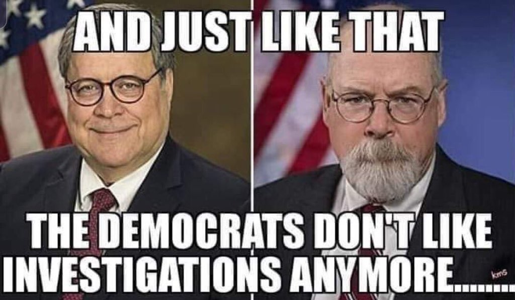 And Just Like That ... Democrats Don't Like Investigations Anymore 😭😂😂👇😜🍿🍿🍿🍿