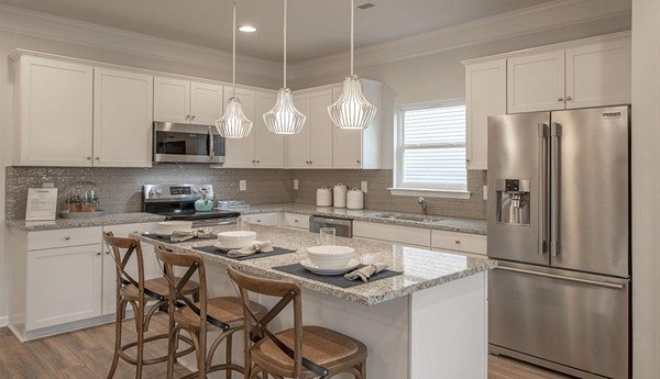 Do you prefer cooking or hosting dinners?   Pictured: Bayfield floor plan at McKeesport in Shelbyville, TN #newhomes #realestate #kitchen<br>http://pic.twitter.com/RSNVrdKxiJ