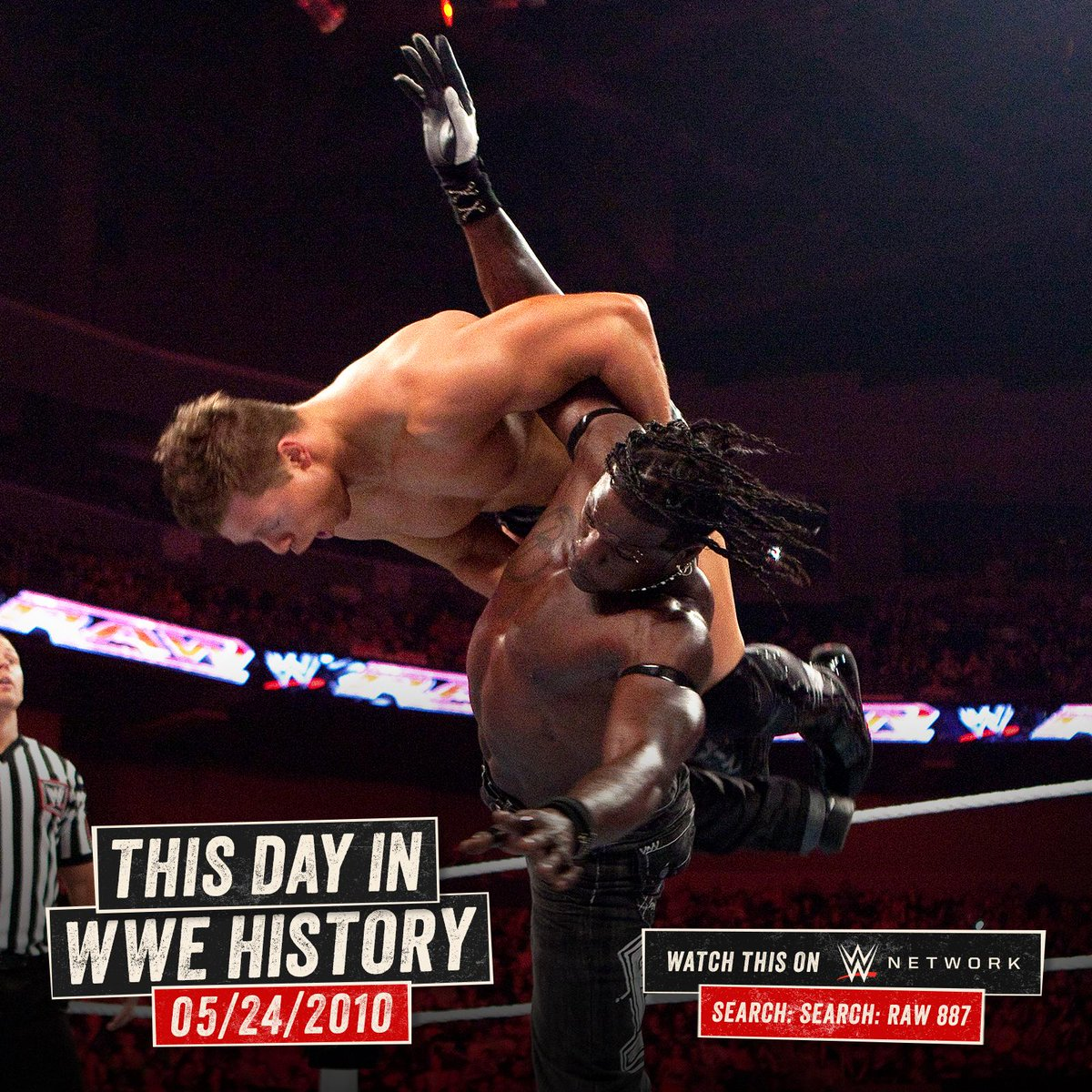Before they were The #AwesomeTruth, @RonKillings and @mikethemiz did battle for the vacant #USTitle on this day in 2010! http://wwe.me/llzxlc
