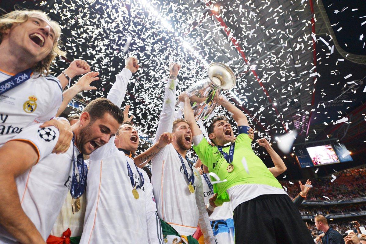 Real Madrid, #OTD in 2014 = #UCLfinal | #FlashbackFriday