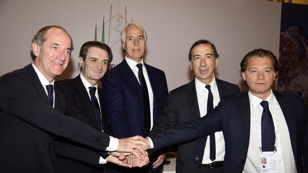 Il Cio promuove la candidatura Milano-Cortina 2026...