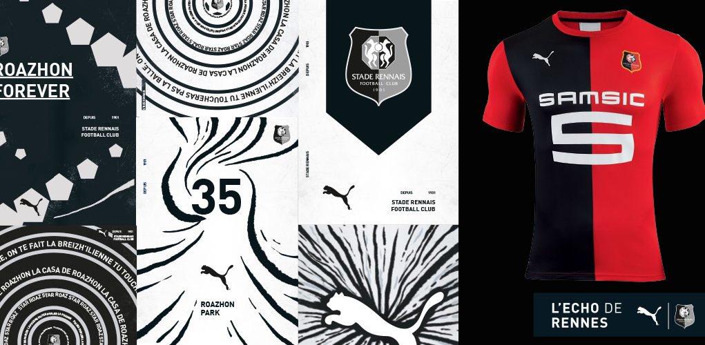 @pumafootball x @staderennais 2019/20 new home kit.   #LechodeRennes #Newlevels #foreverfaster #ToutDonner #Puma<br>http://pic.twitter.com/JpJqXutIv9