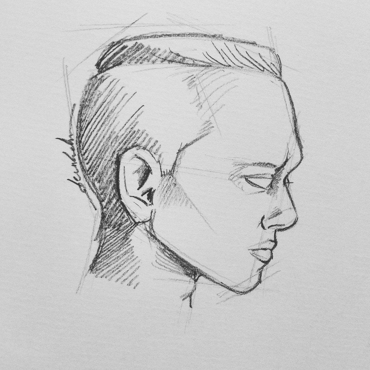 Androgynous #dailyart #dailyillustration #portrait #face #pencil #androgyne #androgynous https://t.co/4M2j2xM5td