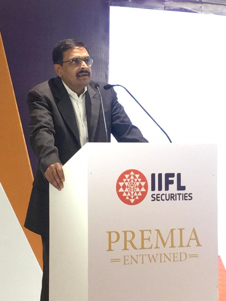 The new government can result in an accelerated growth in the earnings, said Mr. H Nemkumar, Head-Institutional Equities at IIFL at the #PremiaEntwined session of &quot;Impact of election results on the stock market&quot;. <br>http://pic.twitter.com/tF0zYyaRSC