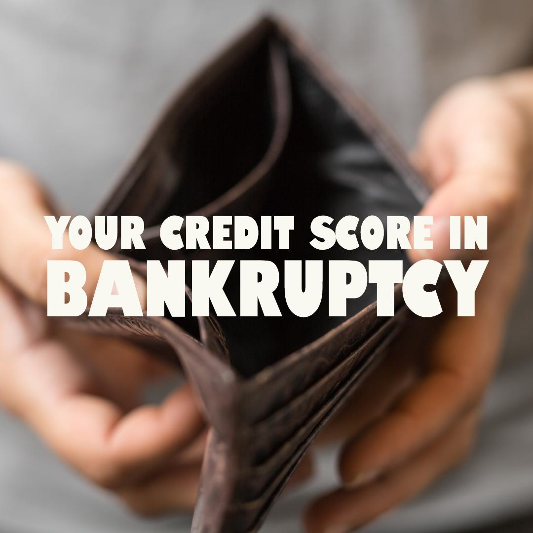 If you're worried about your credit in #bankruptcy - don't. Filing for bankruptcy may not make your credit any worse. You could actually see your credit improve after a year.  You may be considered for an FHA loan a year after a #Chapter13 and two years after a #Chapter7.