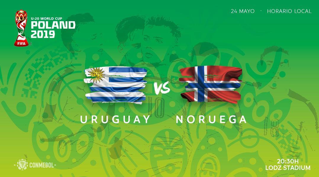¡Hoy debuta Uruguay 🇺🇾!   La Celeste busca empezar con buen pie su camino en Mundial Sub-20.   #U20WC